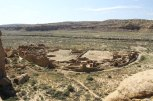 Pueblo Bonito, largest and best known Great House in Chaco