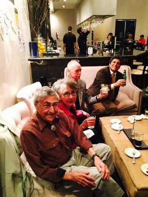 Hal Behl, Marie Garcia Shaffner, Jim Shaffner, Pavlos Panagopoulos