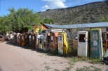 Embudo, New Mexico - Johnny Meier's Classic Gas Station Museum