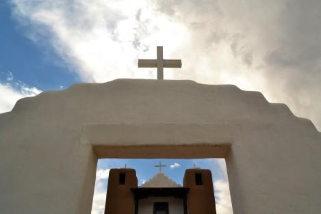 Little Christian Church in Taos Pueblo