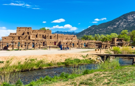 Taos, New Mexico - the native pueblo